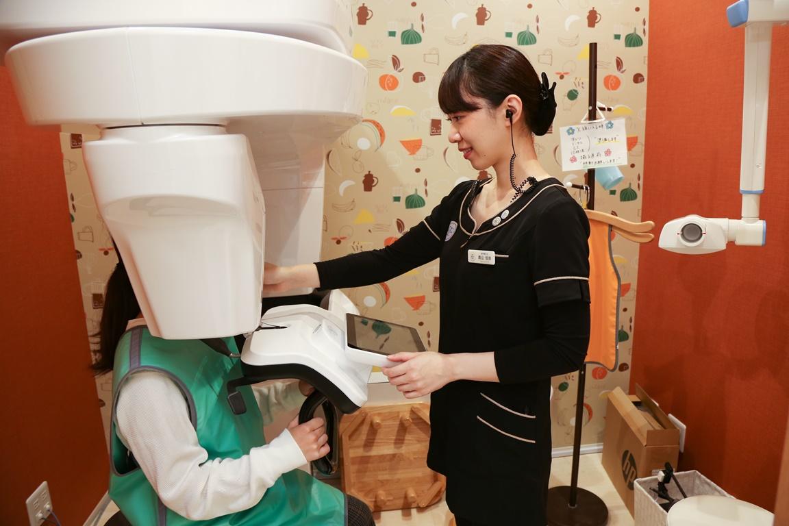 幸田町歯科医院 レントゲン撮影