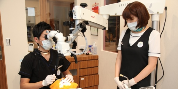 幸田町歯科医院 精密治療で丁寧に