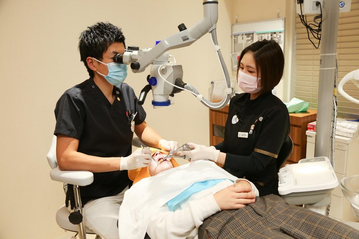 幸田町歯医者歯科医院 マイクロスコープ